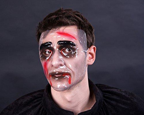 Generique - Zombie Mask Male, Transparent