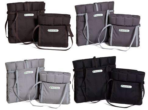 Doctor Bark Travel Bag für Hund und Besitzer, praktische Reisedecke, Allergiker geeignet - waschbar bei 95°C Größen erhältlich