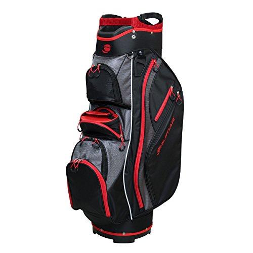Orlimar Golf CRX Cooler Cart Bag - Black/Red/Charcoal, One Size