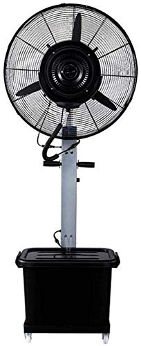 YYhkeby Ventilador de pie de Pedestal para el Edificio de fábrica Industrial Spray Spave Fan Agua Mist Humidificación Agua de enfriamiento Atomizat Jialele