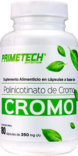 Picolinato De Cromo marca PRIMETECH NUTRITION
