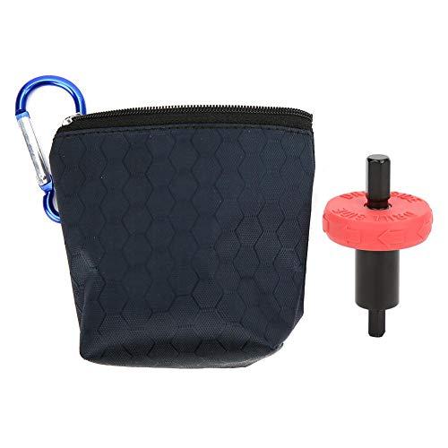 Bit di avviamento elettrico Parti di adattatori per avviamento motore in plastica rossa e nera con sacchetto di imballaggio