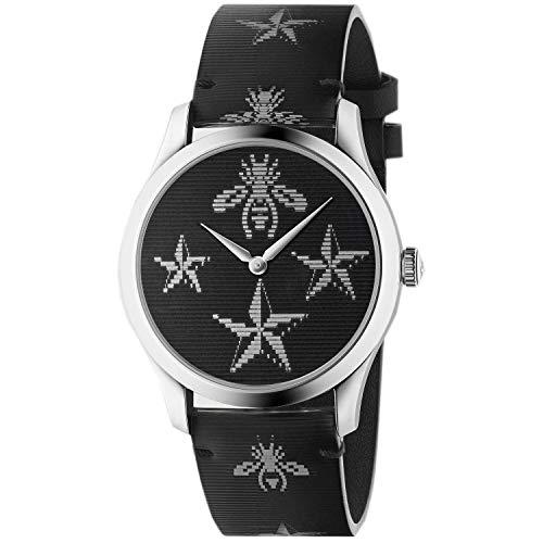 Reloj Gucci YA1264105 Negro Acero 316 L Unisex