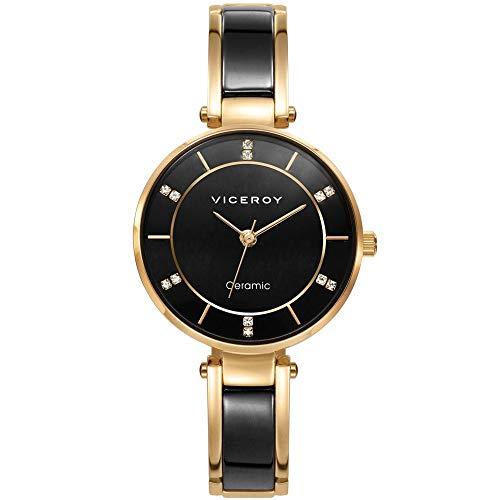Reloj Viceroy Cerámica Dorado Mujer 471238-57