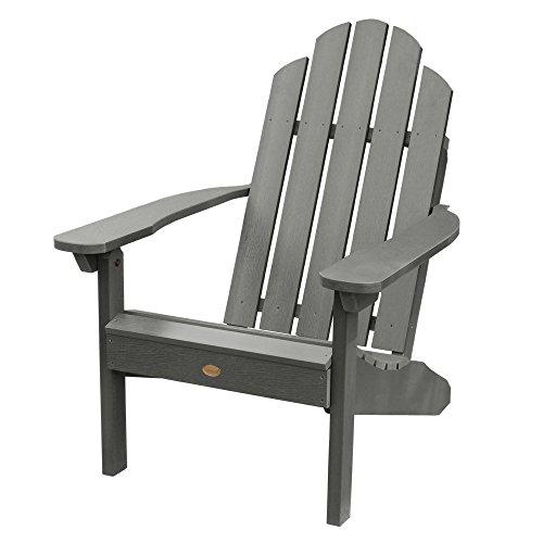 Highwood AD-CLAS1-CGE Classic Westport Adirondack Chair, Coastal Teak