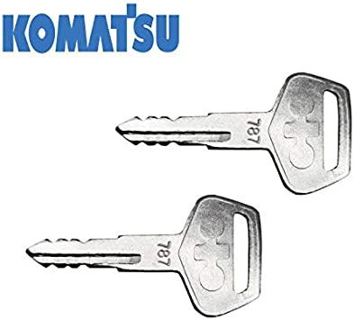 TR261434 Ignition Key 787 for Komatsu Excavator Dozer Loader Backhoe Starter Kalmar Dressta Pack of 4