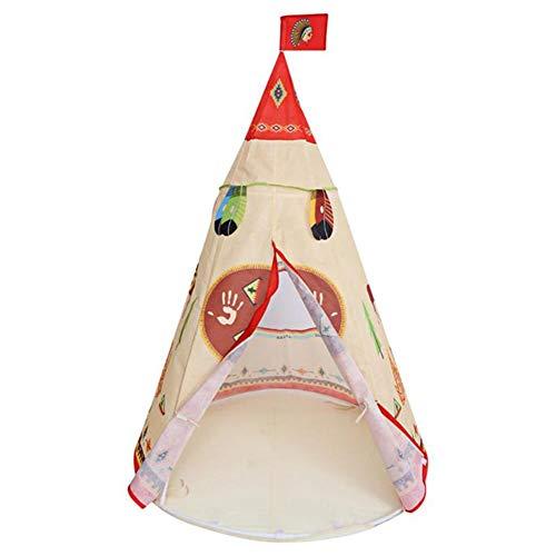 WZXX Ist Stabil Baby Zelt Haus, Tragbares Zelt Spielen Spielzeug Aufbau Sehr Einfach Kinderzelt-Spielzeughaus Für Innen Außenspiele Haus Garten Geburtstag Geschenke