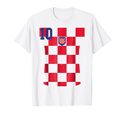 Retro Croatia Soccer Jersey Hrvatska Football T-Shirt