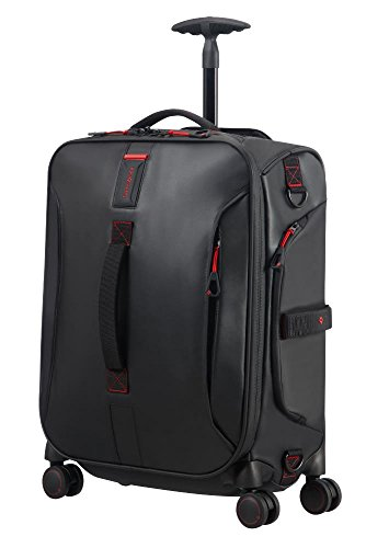 SAMSONITE Paradiver Light - Spinner Duffle Bag 55/20 Travel Duffle, 55 cm, 50 liters, Black