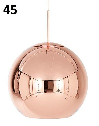 tom dixon, koper, shade 45 cm, hanglamp, koper, hanglamp