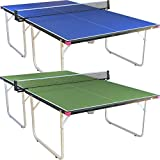 Butterfly Compact 16 Ping Pong Table | 3 Year Warranty Table Tennis Table | Ships Fully Assembled | Space...