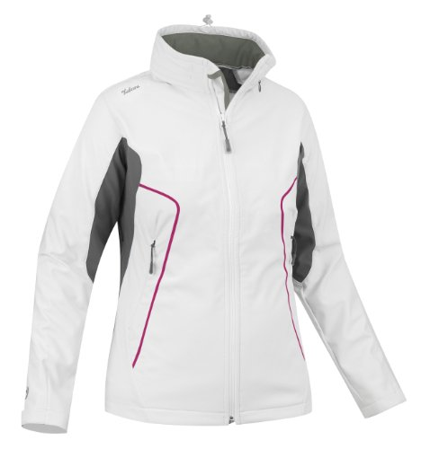 SALEWA Damen Softshell Jacke Iron 2.0 Sw,  white/0780/0400, Gr. IT 48 / DE 42,  00-0000021597
