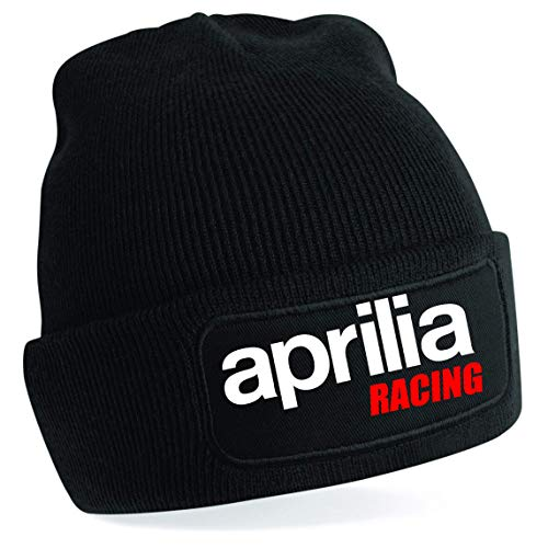Hengtaichang Cappello Unisex Aprilia Motorcycle Racing Premium Quality Winter Warm Beanie
