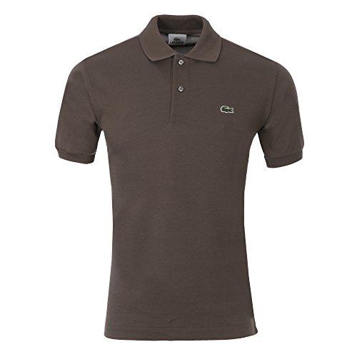 Lacoste L1212, T-Shirt Polo, Uomo, Marrone (Marcassin), FR 8