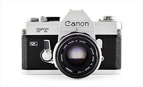 Canon TL QL 35mm SLR Professional Vintage Film Camera with Lens
