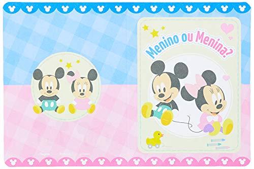 Conv Peq R315 Baby Disney Cha Rev - Pacote Com 08 Un Regina Colorido