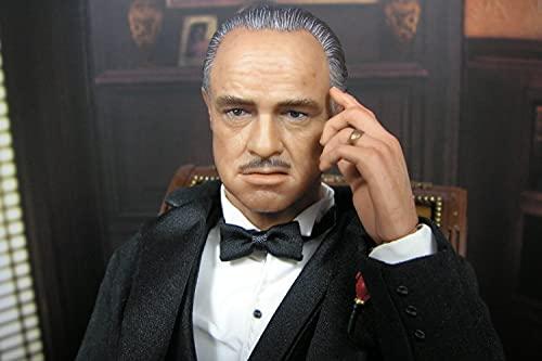 Bdgjln Rompecabezas de 1000 Piezas-Personaje de Cine y televisión Vito Corleone-Puzzle Difícil Y Desafiante,Grande Educativo Alivio del Estrés Relajante JuegoDivertidopa Adultos Niños-50x75cm