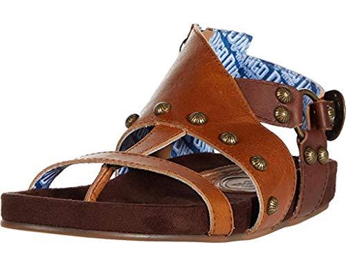 Dingo Womens Sage Brush Flat Sandals Sandals Casual - Brown - Size 8.5 B