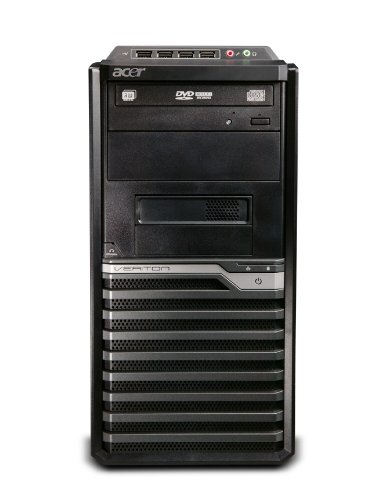 Acer Veriton M480G - Ordenador de sobremesa (8 GB, Intel GMA X4500, Windows 7 Professional)