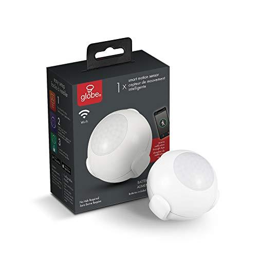 Globe Electric 50026 Collection Smart Motion Sensor, Standard, White