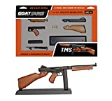GoatGuns Miniature M1A1 WW2 Model TSMG | 1:3 Scale Die Cast Metal Build kit