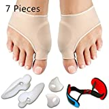 Bunion Corrector & Bunion Relief Protector Sleeves Kit - Treat Pain in Hallux