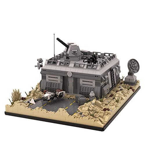 Star Series Imperial Tie Fighter 75101 Sw Base (Outpost) Tatooine Diy Bloques Educativos de Construcción Juguetes Regalo para Niños