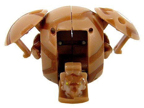 Bakugan Battle Brawlers Game Single LOOSE Figure Subterra Saurus (Brown)