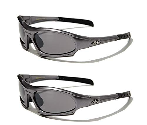 X-Loop ® Twin Pack Gafas de Sol (2Pares)–Deportes–Ciclismo–Esquí–Conducción (Limited Edition)