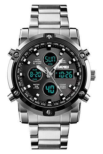 Reloj - SKMEI - Para Hombre - LemaiSKMEI1389SILVER BLACK