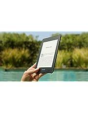 Kindle Paperwhite, wasserfest, 6Zoll (15cm) großes hochauflösendes Display, 8GB – mit Spezialangeboten - Schwarz
