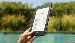Kindle Paperwhite, wasserfest, 6Zoll (15cm) großes hochauflösendes Display, 32GB ? ohne Werbung - Schwarz