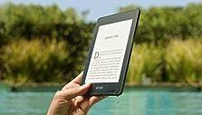 Kindle Paperwhite, wasserfest, 6 Zoll (15 cm) großes hochauflösendes Display, 8 GB ? mit Werbung ? Dunkelblau©Amazon