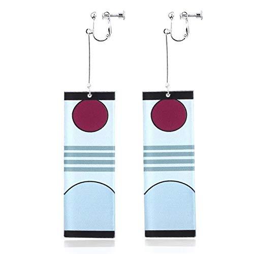 Simple Fashion Original diseño de los pendientes de animación para mujeres y niñas, decoración de orejas para mujer