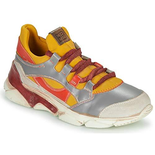 MOMA Tony Bianco Sneaker Damen Gelb - 35 - Sneaker Low Shoes