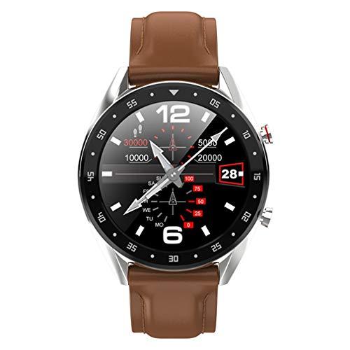 JIEGEGE Sport Smartwatch, IP68 Wasserdichtes Herzfrequenz-Blutdruckmessgerät, Überwachung Ihres Herzschlags Rund Um Die Uhr, Multi-Sport-Modus, Für Android Und IOS