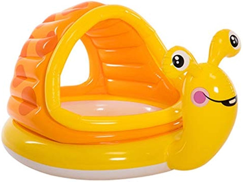 Godlikematealliance Watersports Schwimmen Kleidung INTEX Schnecke Schwimmbad Infant Ozean Ball Pool Zaun Aufblasbare Ball Pool Spielhaus Baby Spielzeug (145X102X74 cm)
