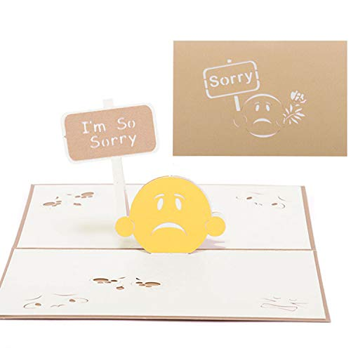Sorry Pop-Up Cards