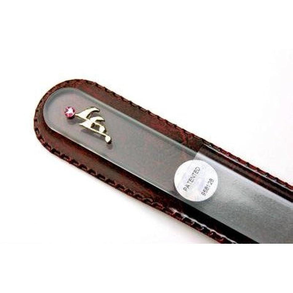 下に向けますさびた発信【ブラジェク】 ガラス爪やすり ネイルアクセサリー金色 音符(FP-47-G)