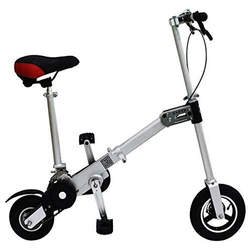 Xiaoyue Mini Falträder, Erwachsene Unisex Single Speed Faltbare Compact Fahrrad, Aluminium Rahmen Stoßdämpfung Urban Commuter Fahrrad, X11 lalay (Size : X11)