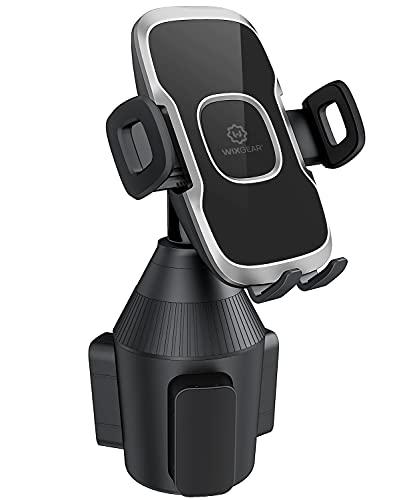 Cup Phone Holder for Car, WixGear Car Cup Holder Phone Mount Adjustable Automobile Cup Holder Smart Phone Cradle Car Mount