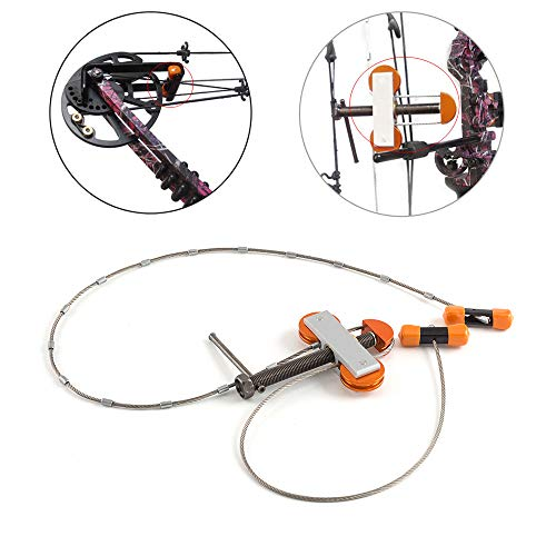 Portable Metal Cable Bow Press String Changer Bowmaster For CompoundBow Hunting