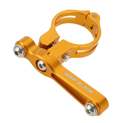 Docooler MTB Aluminio Adapter para Carretera Bicicleta Botella de Agua Jaula, Pinza de Soporte de Montaje de Botella de Agua de Bicicleta