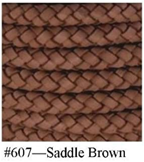 Saddle Brown, Braided Bolo Cord, 10MM (3/8