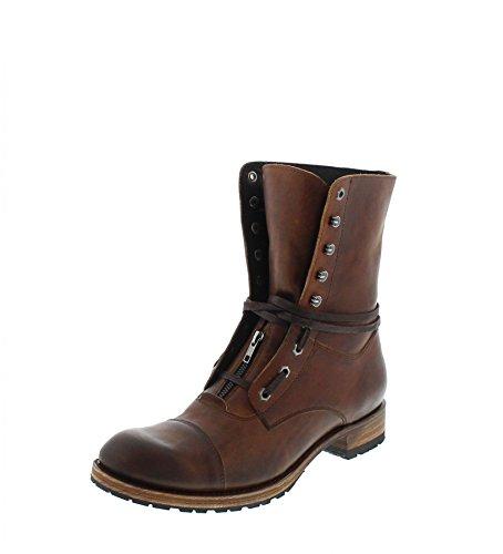 Sendra Boots 12334 Sascha Evolution Tang Schnürstiefel für Herren Braun Urban Boot, Groesse:48