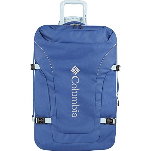"""Columbia Free Roam 21"""" Expandable Rolling Carry Light Blue"""