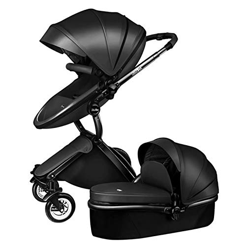 Learn More About Stroller 2 in 1 Multi-Function Combi-Stroller Deluxe Buggy Foldable Infant Toddler ...