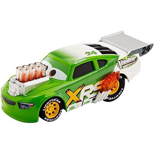 Disney Cars Drag Racing, Macchinina Brick Yardley Die Cast, Giocattolo per Bambini 3+ Anni, GFV40
