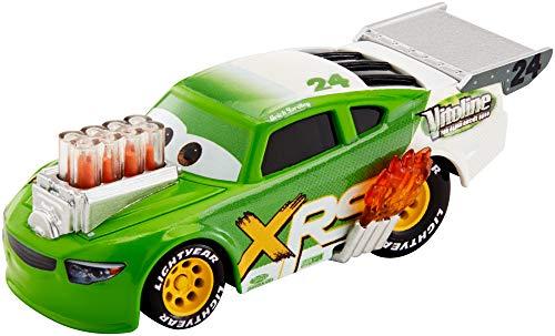 Disney Cars GFV40 - Xtreme Racing Serie Dragster Rennen Die-Cast Spielzeugauto Brick Yardley, Spielzeug ab 3 Jahren
