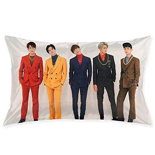 SHINee K-Pop - Funda de almohada para decoración del hogar, funda de cojín para sofá, dormitorio, coche, 50,8 x 76,2 cm